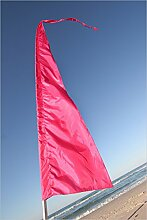 Festival Flaggen! Perfekt für Werbung, Gärten, Schulen & Festivals ~ 5 Meter hoch! Fallschirm-Seide! Blau, grün, Rosa, lila & gelb! (Rosa)