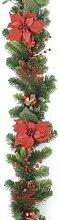Festive Girlande, Roter Weihnachtsstern