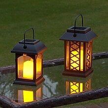 Festive Lights Gartenlaterne, solarbetrieben,