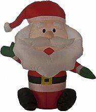 Festive p00029080cm aufblasbarer Weihnachtsmann