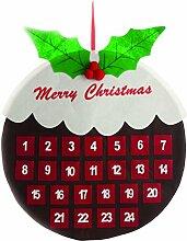 Festive Productions Christmas Pudding Filz Mauer