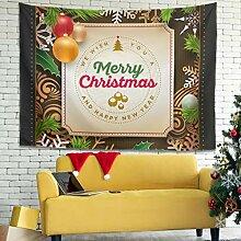Festliche Frohe Weihnachten Holly Verzierungs