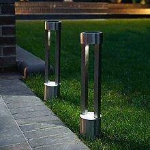 Festliche Lichterkette 2 Stück Solar Edelstahl