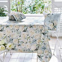 Festliche Tischdecke mit farblich abgestimmtem