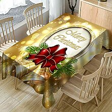 Festliche Tischdecke, Weihnachtsstoff, wasserfest,