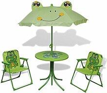 Festnigh Garten-Sitzgruppe für Kinder mit