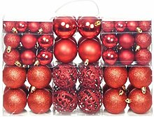 Festnight 100-tlg. Weihnachtskugel Set 3 cm / 4 cm