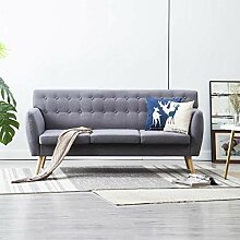 Festnight- 3-Sitzer-Sofa | 3er Stoff Couch |