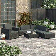 Festnight 8-TLG. Garten-Lounge-Set mit Auflagen