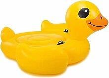 Festnight- Aufblasbare Badeinsel Mega Yellow Duck
