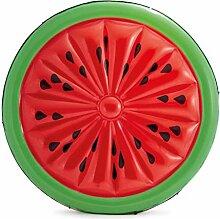Festnight- Aufblasbare Badeinsel Watermelon Island