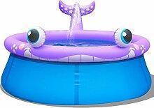 Festnight Aufblasbares Schwimmbecken Pool 1143 L