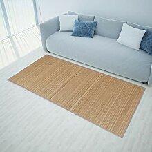 Festnight- Bambusteppich für Bad Schlafzimmer und