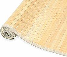 Festnight- Bambusteppich für Bad und Wohnzimmer