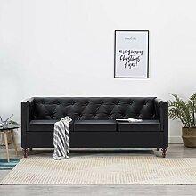 Festnight Chesterfield-Sofa 3-Sitzer