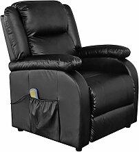 Festnight Elektrischer Massagesessel Massage