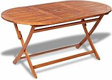 Festnight- Esstisch Gartentisch aus Akazienholz |