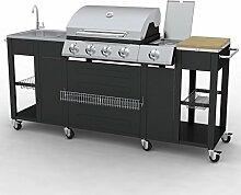 Festnight G-BBQ KIT BBQ Gasgrill Barbecue-Grill