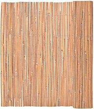 Festnight Garten Bambusmatte Sichtschutzmatte
