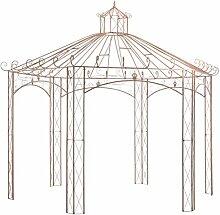 Festnight Gartenpavillon Rosenpavillon Metall