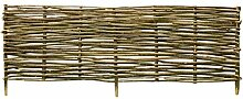 Festnight- Holz Zaun 150 x 40 cm/Sichtschutzzaun
