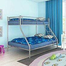 Festnight- Kinder Doppel-Etagenbett 140x200 und