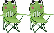 Festnight Kinder Gartenstühle 2 STK. Klappstuhl