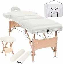 Festnight Klappbar Massageliege Tragbar Massage