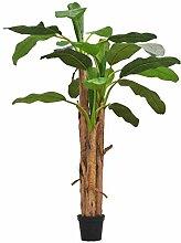 Festnight Kunstbaum Künstlicher Bananenbaum mit
