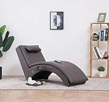 Festnight- Massage Relaxliege mit Kissen |