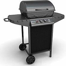 Festnight Outdoor Stahl Gasgrill Barbecue BBQ