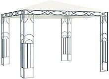 Festnight Pavillon 3×3 m mit Dach Gartenpavillon