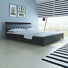 Festnight Polsterbett Bett Doppelbett Ehebett ohne