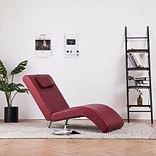 Festnight Relaxliege mit Kissen | Wohnzimmer