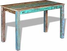 Festnight Retro Esstisch Holz Tisch Esszimmertisch