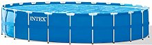 Festnight Rund Swimmingpool Pool Schwimmbad