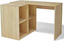 Festnight Schreibtisch Bürotisch Arbeitstisch mit