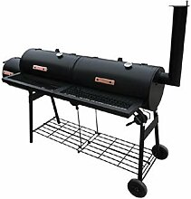 Festnight Smokers Grill Barbecue-Grill Grillwagen