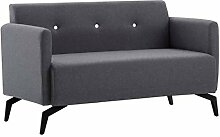 Festnight Sofa 2 Sitzer Stoffsofa Lounge Sofa