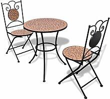 Mit Stühlen KaufenLionshome Online Mosaiktisch Günstig nmv80ywNO