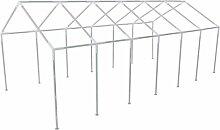 Festnight zelt gestell Zeltrahmen Pavillon Zeltrahmen Pavillon Stahl Rahmen Metallrahmen 12 x 6m