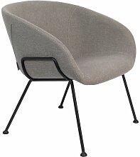 Festoon Fab Lounge-Stuhl grau