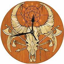 FETEAM Moderne dekorative runde Wanduhr Bild des