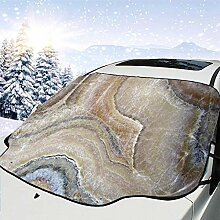 FETEAM Winddichte Windschutzscheibe Schneedecke