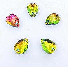 Fett Wassertropfen Form AB Farben Glas Kristall