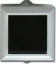 Feuchtraum Kreuzschalter Aufputz Kreuzschalter AP IP54 16A/250V grau