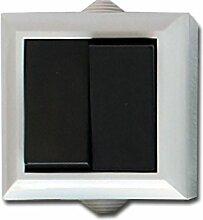 Feuchtraum Serienschalter Aufputz Schalter Serienschalter AP IP54 16A/250V grau
