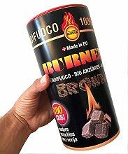 Feuerbällchen Bio Burner Brown 100Stück
