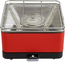 Feuerdesign 14031 rot Tischgrill, Ros