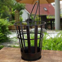 Feuereimer im modernen Design, Feuerkorb fürs